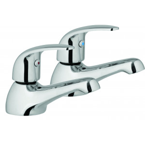 Compact Single Basin Taps with Sprung Waste