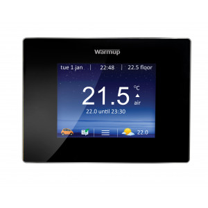 4iE Smart WiFi Thermostat - Onyx Black