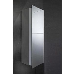 Alcove Mirrored Corner Cabinet