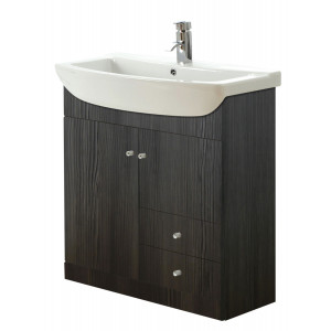Aquapure 850mm Vanity Unit - Avola Grey
