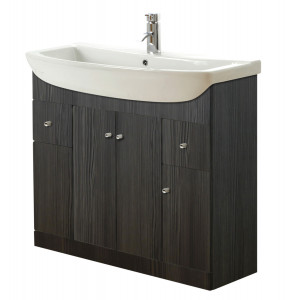 Aquapure 1050mm Vanity Unit - Avola Grey