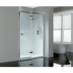 Prestige² 8mm Frameless Hinged Door - Right-Hand
