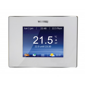 4iE Smart WiFi Thermostat - Porcelain