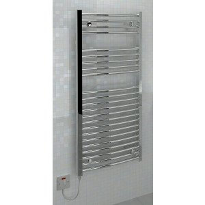 Ellipse 1100 x 500mm Electric Towel Rail