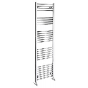 Flat 1500mm Heated Towel Rail - Chrome