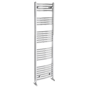Curved 1500mm Heated Towel Rail