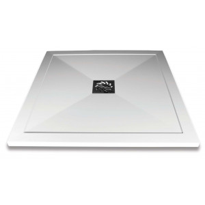 Slimline Square Shower Tray & Waste