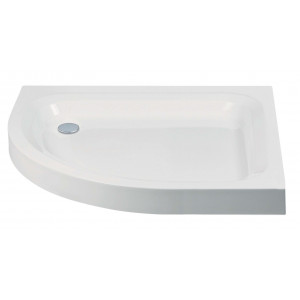 Standard Offset Quadrant Shower Tray with Anti-Slip Option