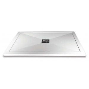 Slimline Rectangular Shower Tray & Waste