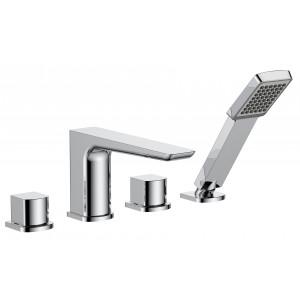 Sabre 4 Tap Hole Bath Shower Mixer
