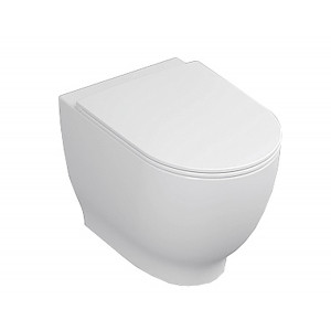 Harmony Back-to-Wall Toilet with Soft-Close Seat