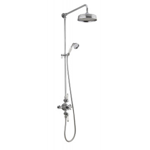 Holborn Exposed Thermostatic Shower Column