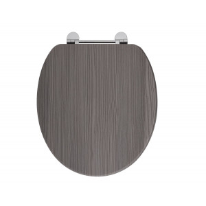 Holborn Wooden Soft-Close Toilet Seat - Avola Grey