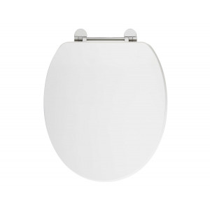 Holborn Wooden Soft-Close Toilet Seat - Gloss White