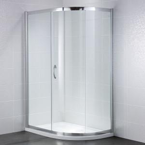 Identiti² 6mm 1 Door Quadrant Enclosure
