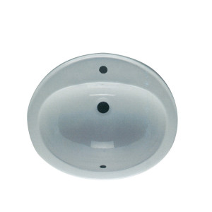 Jessica 530mm Over-the-Counter Basin - 1 Tap Hole