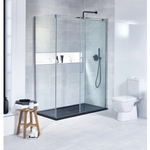 Aquaglass+ Linear 8mm Sliding Door
