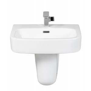Modo 550mm Semi-Pedestal Basin