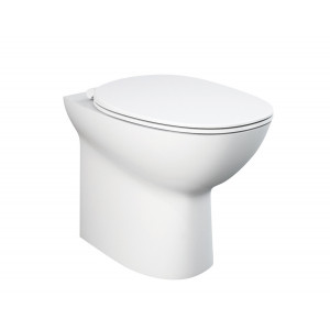 Morning Back-To-Wall Toilet with Soft-Close Seat
