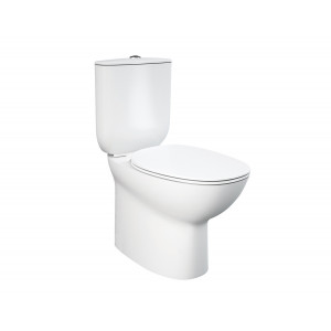 Morning Flush-To-Wall Toilet with Soft-Close Seat