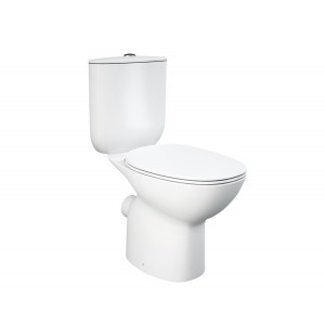 Morning Close Coupled Toilet with Soft-Close Seat