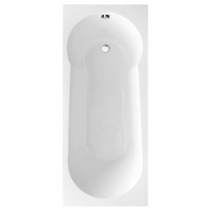 Oporto Round Single-Ended Shower Bath