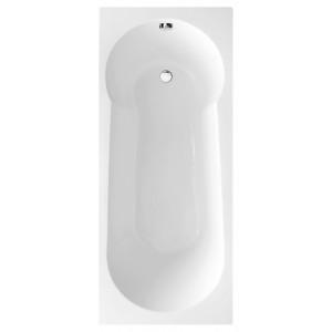 Oporto Round Single-Ended Shower Bath