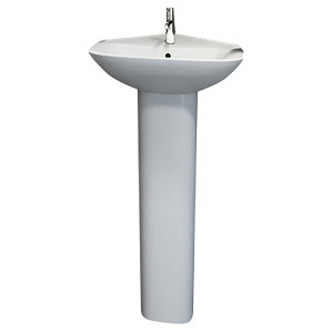 Origin 62 Corner Basin and Pedestal
