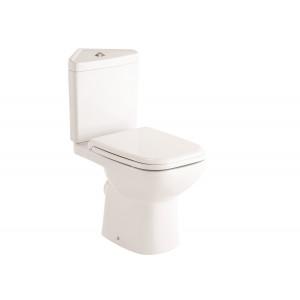Origin 62 Corner Toilet with Soft-Close Seat