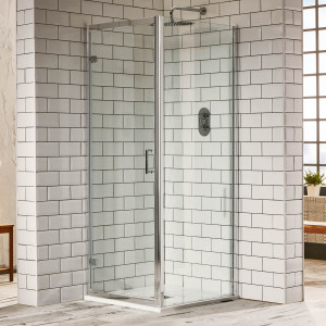 Aquaglass Purity 6mm Hinged Door