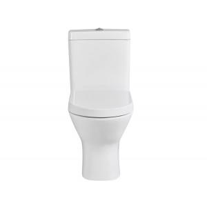 Resort Maxi Flush-to-Wall Toilet with Soft-Close Seat