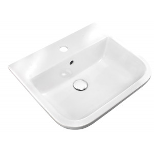 Series 600 500mm Inset Counter Basin - 1 Tap Hole