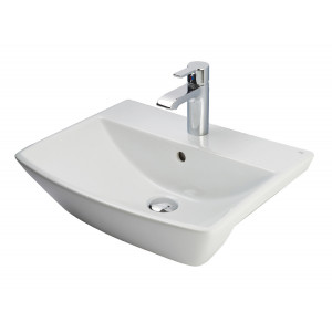 Summit 500mm Semi-Recessed Basin