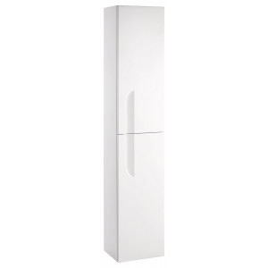 Vitale 300mm Tall Wall Unit - White Gloss