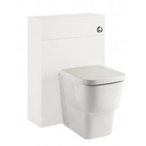 Vitale 600mm Toilet Unit - White Gloss