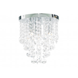 Crystal Dropped Bathroom Chandelier