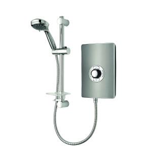 Aspirante Minimalist 9.5kW Electric Shower with Central Control - Gun Metal