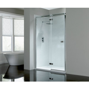 Prestige² 8mm Frameless Hinged Door - Left-Hand