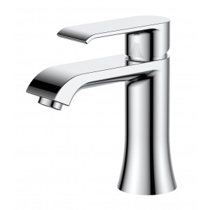 Basque Chrome Basin Mixer with Sprung Waste
