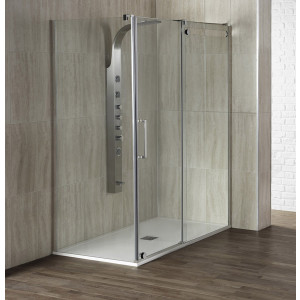 Aquaglass+ Glide 10mm Sliding Door