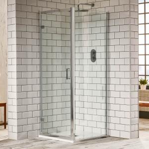 Aquaglass Purity 6mm Hinged Door