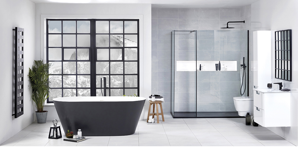 Making Monochrome Work for You   FrontlineBathrooms.com